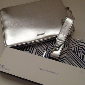 NWT Rebecca Minkoff Regan Leather Laptop Sleeve